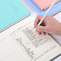 日记本a5学生记事本小清新简约每日计划时间管理手册小笔记本子
