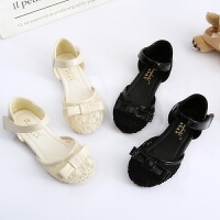 女童凉鞋新款夏季时尚中大童学生小公主包头可爱
