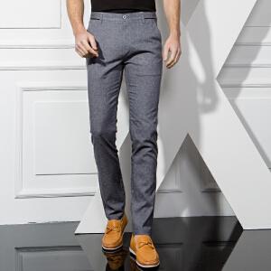 1号牛仔 男士小脚裤子韩版修身西裤春季休闲裤新款百搭西装裤潮