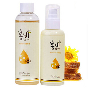 papa recipe春雨面膜蜂蜜保湿补水乳液 蜂蜜保湿水乳200ml+150ml