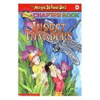 英文原版The Magic School Bus A Science Chapter Book Insect Invad