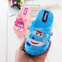 泰蜜熊一体成型卡通可爱软底防滑舒适夏季宝宝凉拖鞋2-10岁儿童包头凉拖鞋