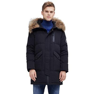 网易严选 地表强温 男式鹅绒羽绒服 洁净如白雪的鹅绒,天生给你温暖的满足感。