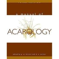 【预订】A Manual of Acarology