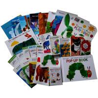 Eric Carle艾瑞・卡尔 26本套装色彩缤纷、富含想象力的拼贴画风格的图画书绘本Do You Want to B