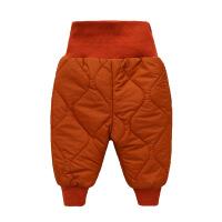 加绒加厚宝宝棉裤男童女童婴儿裤子秋冬季大PP夹棉保暖儿童装靴裤