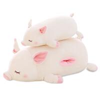 暖手抱枕捂手枕毛绒玩具猪猪公仔女孩可爱猪玩偶布娃娃生日礼物女