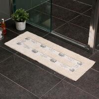 【每满100减50】ORZ 印度制扁长版厚身全棉地毯 防滑吸水棉质地垫客厅卫生间防滑门垫