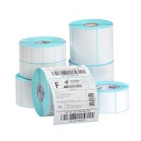 空白E邮宝热敏纸30 40 50 60 70 80 100不干胶标签彩色条码打印机贴纸卷吊牌价格