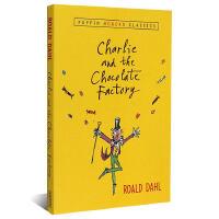 【现货】英文原版 查理和巧克力工厂Charlie and the Chocolate Factory (Puffin
