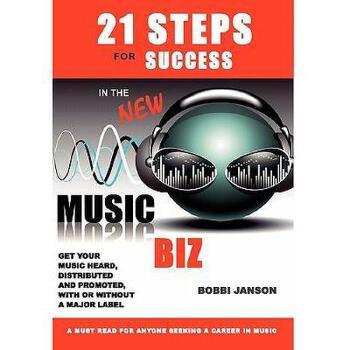【预订】21 Steps for Success in the New Music Biz 美国库房发货,通常付款后3-5周到货!