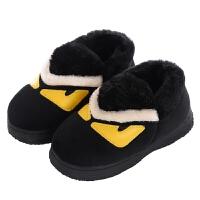 儿童包跟棉拖鞋秋冬季可爱卡通男女童宝宝亲子防滑室内外居家棉鞋