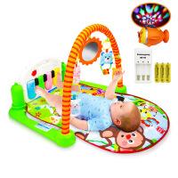 婴儿脚踏钢琴健身架 宝宝音乐游戏毯婴儿玩具
