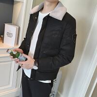 Calvirl Kleirl CK2018冬装迷彩外套男士修身保暖小棉袄潮流小伙棉衣男短款