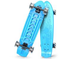 儿童滑板四轮闪光大鱼板刷街代步男女滑板车小孩初学者