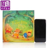 【中商原版】尤斯伯恩立体童话:三只小猪 Pop-up three little pigs 立体书玩具书童话故事