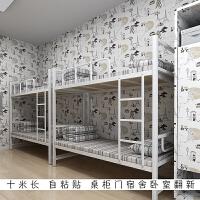 10米卧室墙贴桌柜温馨 门贴纸家具翻新贴纸壁纸自粘少女心房间