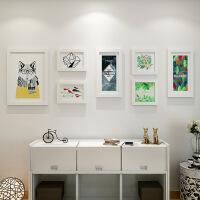 空白艺术家居现代简约欧美壁画照片墙客厅餐厅卧室装饰画相框墙画 其他尺寸