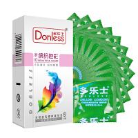 多乐士避孕套梦幻缤纷色彩系列1盒 安全套共12只(进口版)6色盛宴 平滑情趣 成人用品