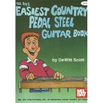 【预订】Mel Bay's Easiest Country Pedal Stell Guitar Book