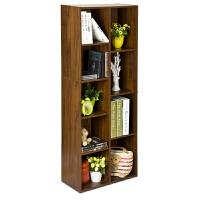 [当当自营]慧乐家 书柜书架 鲁比克创意九格储物柜 展示置物架 深红樱桃木色 11108
