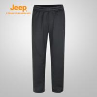 【特惠价】Jeep/吉普 男士户外针织长裤舒适透气登山徒步裤J732096603