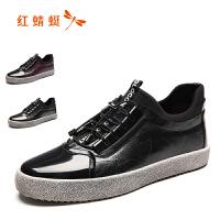 红蜻蜓男鞋 真皮休闲鞋轻质耐磨舒适头层牛皮皮鞋单鞋