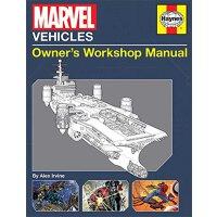 漫威车辆:车主手册 英文原版 Marvel Vehicles: Owner's Workshop Manual