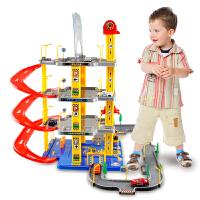 大型立体拼装轨道车小汽车停车场玩具套装儿童男孩礼物 套餐类型 6辆小车