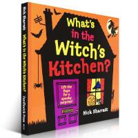 【全店300减100】英文原版绘本 What'S In The Witch'S Kitchen 进口少儿童书