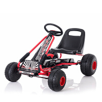 儿童卡丁车四轮脚踏自行车运动玩具汽车可做男女宝宝健身童车 环保轮+脚蹬卡丁车