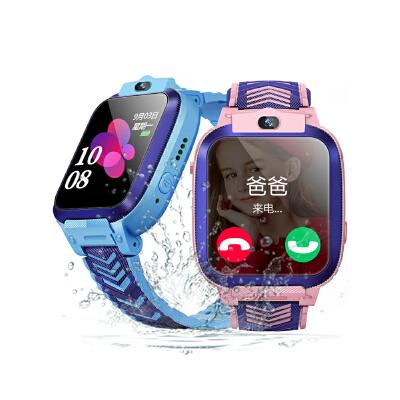 儿童电话手表防水4g全网通多功能可爱男女孩初中小学生 智能定位手机可视频通话电信版手环