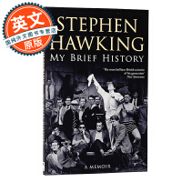 斯蒂芬霍金自传 我的简史 英文原版 My Brief History 进口图书 Stephen Hawking 物理学