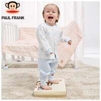 PWU1743066大嘴猴(Paul Frank)婴幼儿 圆领 长袖对襟套装1入装