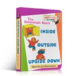 英文原版绘本 Berenstain Bears 贝贝熊系列 Inside Outside Upside Down 儿童