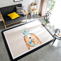 厨房垫床边垫茶几垫卧室客厅地垫地毯北欧