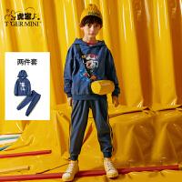 【2件3折到手价:110.7元】小虎宝儿男童运动套装2019春秋新款儿童洋气纯棉韩版两件套