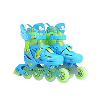 直排旱冰轮滑鞋 溜冰鞋儿童全套装3-5-6-8-10岁初学者男女孩