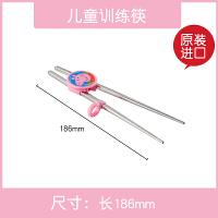 [当当自营]韩国进口小猪佩奇儿童餐具套装304不锈钢勺子叉子 训练筷粉色