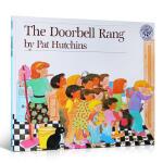 英文原版 The Doorbell Rang 门铃又响了 汪培�E 美国图书馆协会推荐童书 3-6岁绘本图书