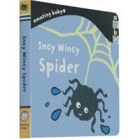 英文原版绘本 Incy Wincy Spider 小小蜘蛛 Amazing Baby系列 埃玛・多德 幼儿启蒙0-3岁