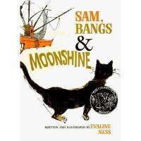 Sam, Bangs & Moonshine 英文原版儿童书 珊珊的月光 1967年凯迪克金奖