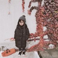 新款冬装儿童装男女童长款轻薄羽绒服男宝宝羽绒服外套潮