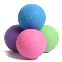 足底健身球连体花生球孕妇腰部肌肉放松筋膜球瑜伽小球实心按摩球 6.35cm