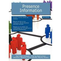 【预订】Presence Information: High-Impact Strategies - What