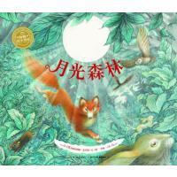 月光森林 平装 海豚绘本花园 自然与生命 亲近自然 提高环保意识 图画书