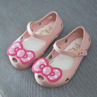 儿童凉拖鞋夏季防滑软底女童宝宝小孩公主凉鞋