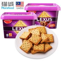 马奇新新 力士黄油夹心饼干532g/盒(19g*28包)进口休闲零食