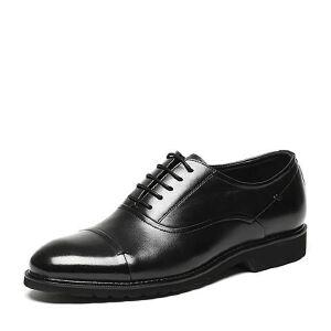 Tata/他她2017年春季专柜同款油蜡牛皮男皮鞋22J22AM7