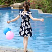 女童连衣裙夏装夏季碎花大童儿童装小女孩洋气裙子潮